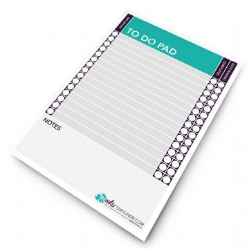 Monster Stationery - A5 To Do Pad / Daily Planner - 60 Sheets - 80gsm - Made in UK